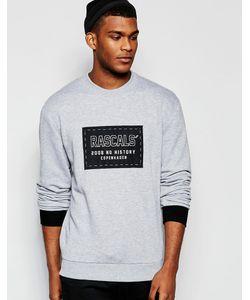 RASCALS' | Свитшот С Нашивкой-Логотипом Rascals Серый