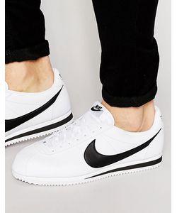 Nike | Кожаные Кроссовки Cortez 749571-100 Белый