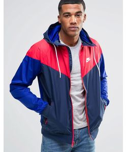 Nike | Синяя Ветровка 727324-452 Синий