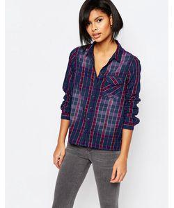 Vero Moda | Рубашка В Клетку С Эффектом Омбре Мульти