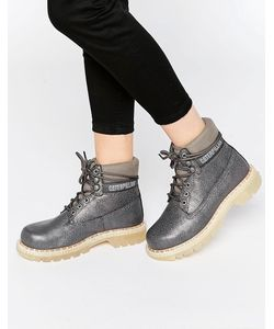 Cat Footwear | Серые Ботинки Caterpillar Colorado