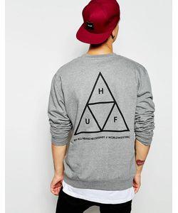 Huf | Свитшот С Тремя Треугольниками