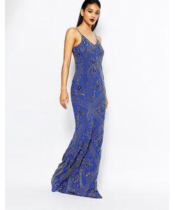 Virgos Lounge | Декорированное Платье Макси Dame