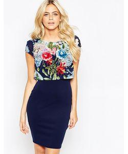 Lipstick Boutique | Платье С Цветочным Топом Kylie
