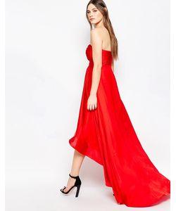 STUDIO . 75 | Платье Макси Без Бретелек Goldie Barbados Cherry