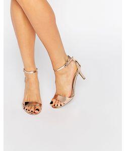 Head over Heels by Dune | Легкие Сандалии На Каблуке Цвета Розового Золота Head Over Heels By