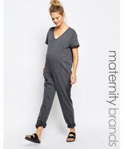 Bluebelle Maternity | Свободный Домашний Комбинезон Для Беременных