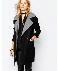 Vero Moda | Пальто С Контрастным Воротником