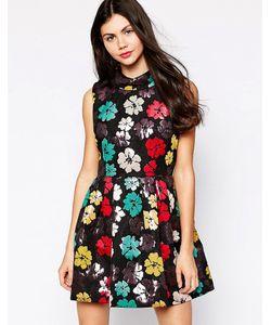 Ukulele | Платье Для Выпускного С Цветочным Принтом