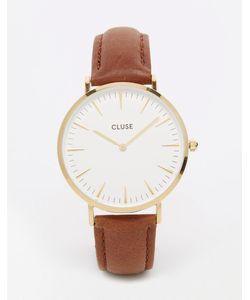 Cluse | Часы Со Светло-Коричневым Кожаным Ремешком La Boheme Cl18408