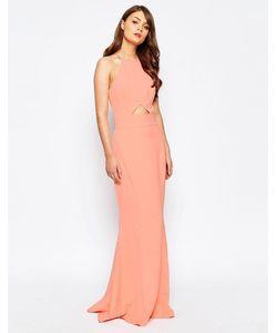 JARLO | Платье Макси С Вырезами И Расклешенной Юбкой Elenora