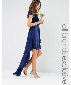 TFNC Tall | Платье С Асимметричным Подолом