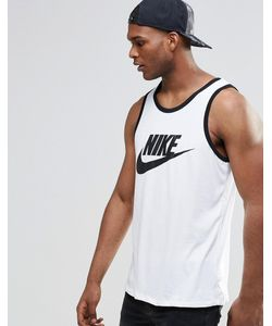 Nike | Белая Майка С Логотипом 779234-100 Белый