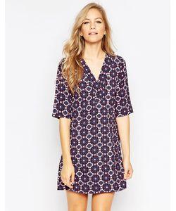 Closet | Платье-Туника С Мозаичным Принтом