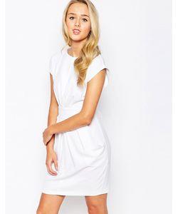 Closet   Платье С Драпировкой Спереди И Завязкой На Спине