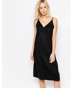 Weekday   Платье Однотонный Черный