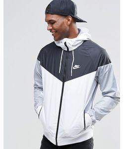 Nike   Белая Ветровка 727324-101 Белый