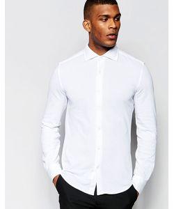 United Colors Of Benetton | Рубашка Из Хлопкового Пике Белый