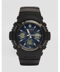 G Shock | Аналоговые И Цифровые Часы Черного Цвета G-Shock Awg-M100sb Черный