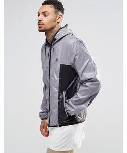 Your Own | Куртка Со Вставками И Логотипом Серый