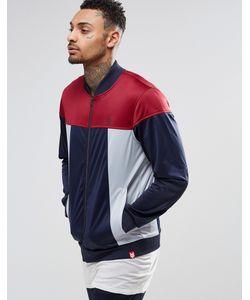 Your Own   Спортивная Куртка Со Вставками Синий