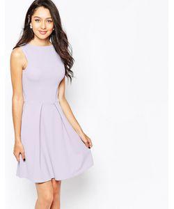 Closet | Короткое Приталенное Платье С Молнией Спереди