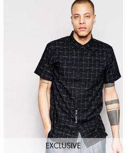 Black Eye Rags | Рубашка С Короткими Рукавами Черный