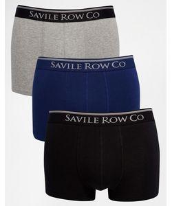 Saville Row   Набор Из 3 Боксеровбрифов Savile Row Мульти