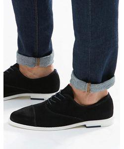 Aldo | Замшевые Оксфордские Туфли С Отделкой На Носке Caliva Черный