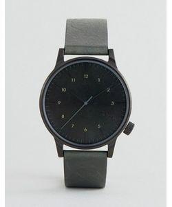 Komono | Часы С Зеленым Кожаным Ремешком Winston Regal