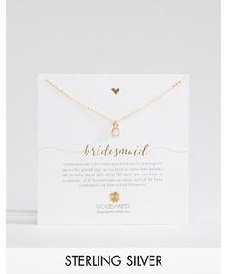 Dogeared | Позолоченное Ожерелье Bridesmaid