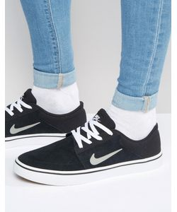 Nike SB | Кроссовки Portmore 725027-012 Черный