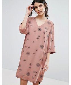 Selected | Платье С Одуванчиками Femme