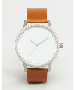 Simple Watch Company | Часы С Кожаным Ремешком Swco Kent Рыжий