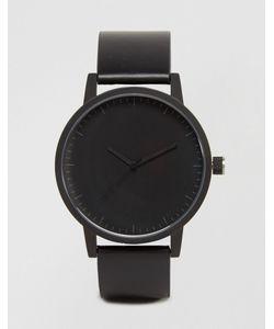 Simple Watch Company | Часы С Кожаным Ремешком Swco Kent Черный