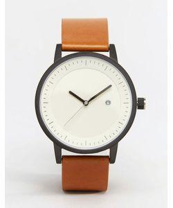 Simple Watch Company | Часы С Коричневым Кожаным Ремешком Swco Earl Рыжий