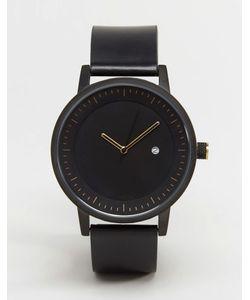 Simple Watch Company | Черные Часы С Кожаным Ремешком Swco Dixon Черный