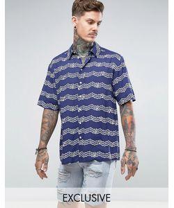 Reclaimed Vintage | Фестивальная Рубашка Классического Кроя Inspired