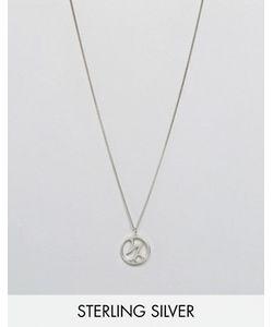 Fashionology   Ожерелье С Зодиакальной Подвеской Козерог