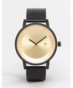 Simple Watch Company | Часы С Кожаным Ремешком Swco Dixon Черный