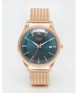 Henry London | Золотые Наручные Часы С Плетеным Дизайном Ремешка Stratford