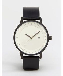 Simple Watch Company | Часы С Кожаным Ремешком Swco Earl Черный