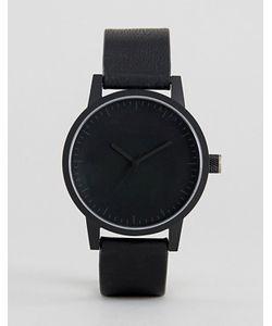 Simple Watch Company | Черные Часы С Кожаным Ремешком Swco Kent 38 Мм