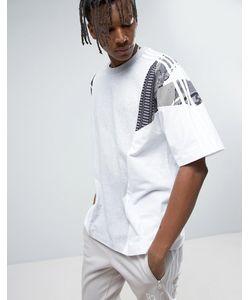 adidas Originals | Свободная Футболка С Логотипом-Трилистником La Pack Bp8967