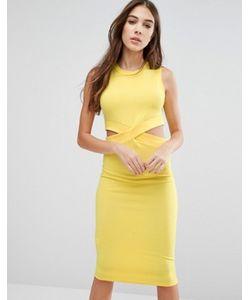 Wal G | Платье-Футляр С Вырезами