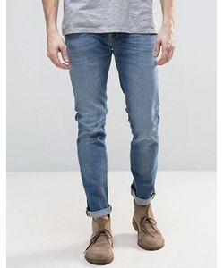 Nudie Jeans Co | Синие Узкие Джинсы Nudie Grimtim