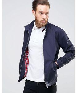 Asos | Темно-Синяя Куртка Харрингтон Темно-Синий