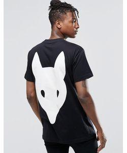 LONG CLOTHING   Футболка Fox Черный