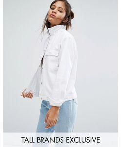 Waven Tall | Джинсовая Куртка Белый