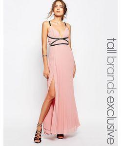 True Decadence Tall | Платье Макси В Греческом Стиле Со Складками
